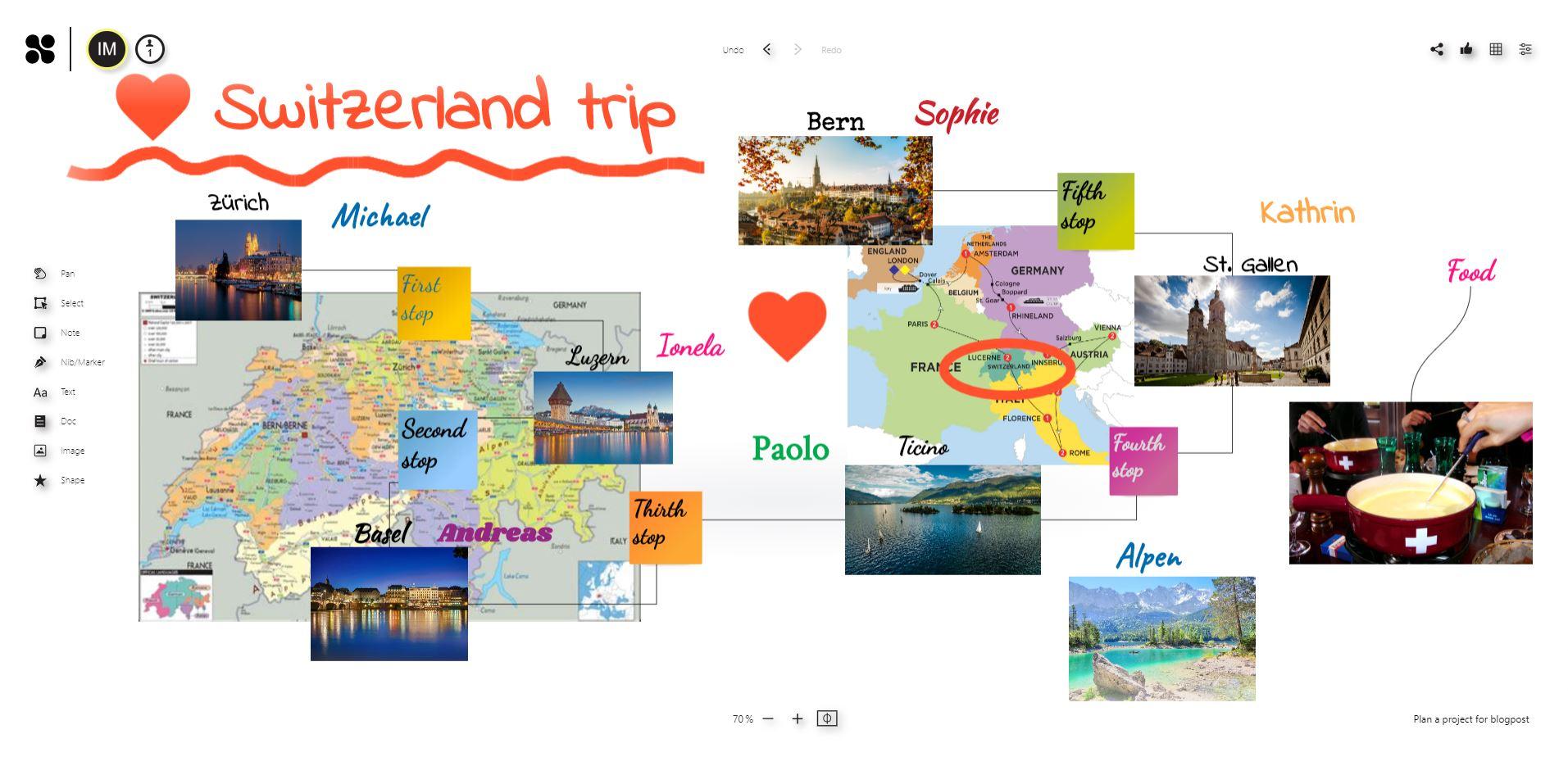 Switzerland trip version 2