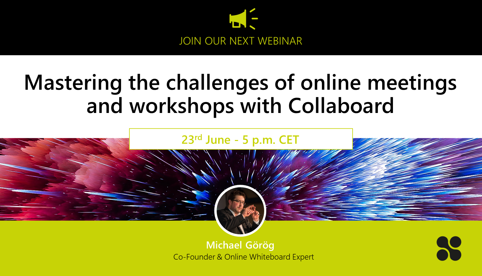 Register now for the free Collaboard webinar